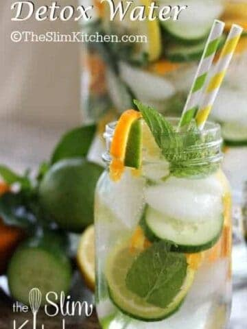 Slimming Detox Water in a jug