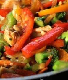 Ginger Chicken Stir-Fry!