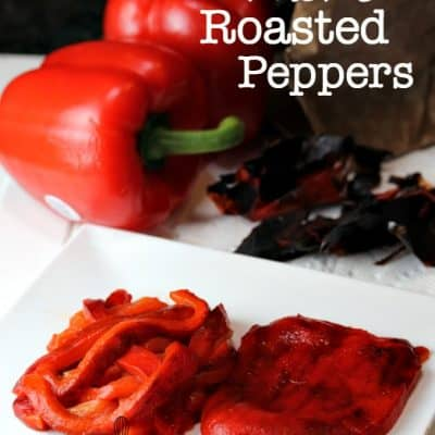 Perfectly Roasted Red Peppers
