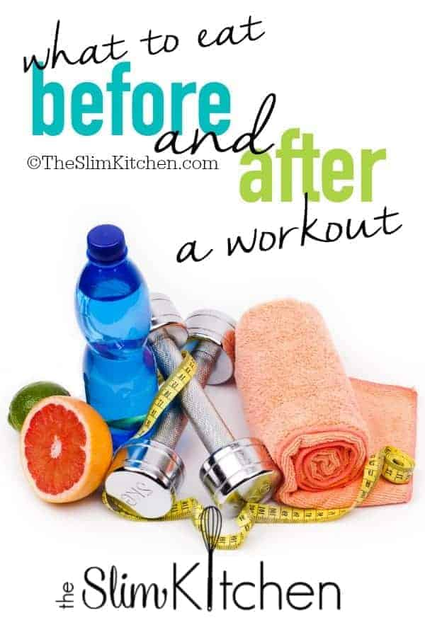 What to eat before and after a workout!