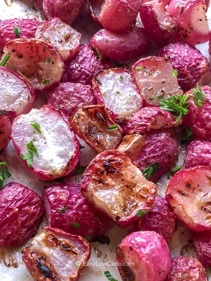 Oven Roasted Radishes