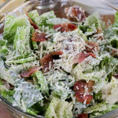 Low Carb (keto) Caesar Salad