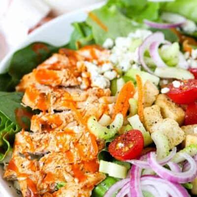 Buffalo Chicken Salad closeup