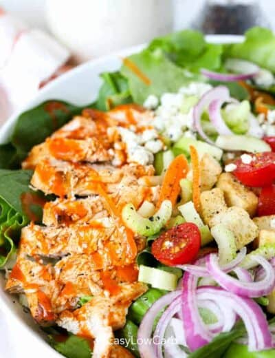 Buffalo Chicken Salad closeup