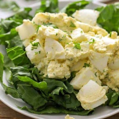 Keto Egg Salad (Low Carb)