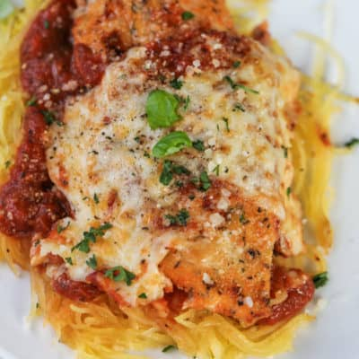 Easy Low Carb Chicken Parmesan
