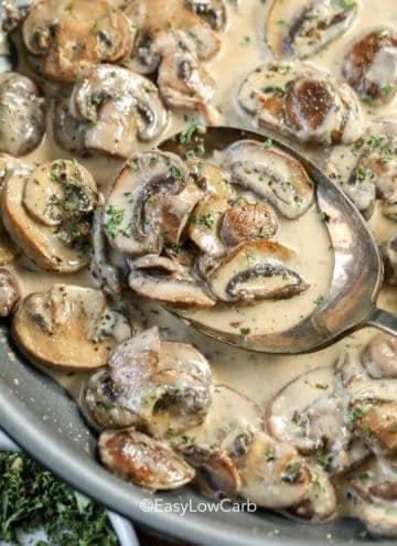 Creamy Dijon Mushroom Sauce