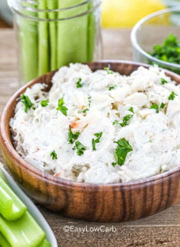 Low Carb Crab Dip