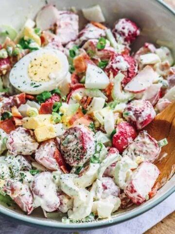 Radish Salad with eggs