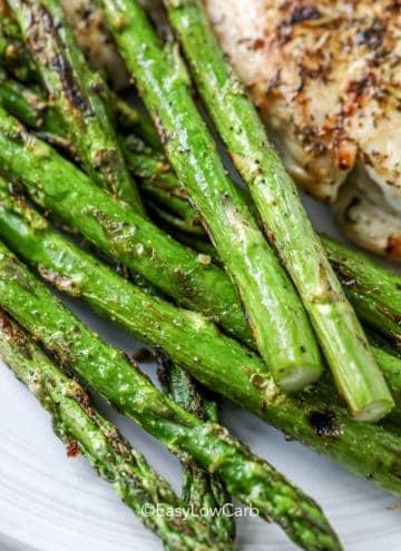 Roasted Keto Asparagus