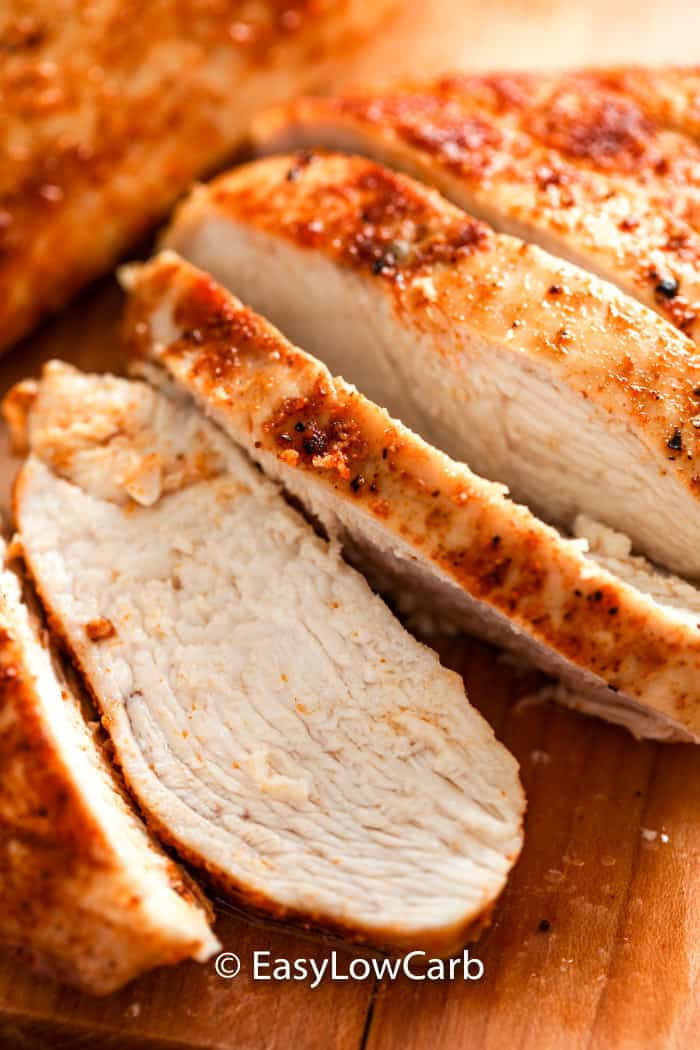 Air Fryer Chicken Breasts Juicy Tender Easy Low Carb
