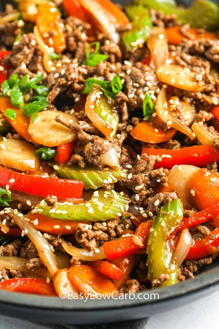 Easy Beef Stir Fry Ready In 30 Minutes Easy Low Carb