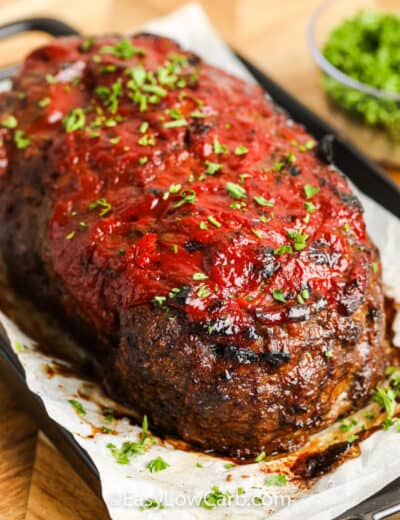 cooked Low Carb Meatloaf