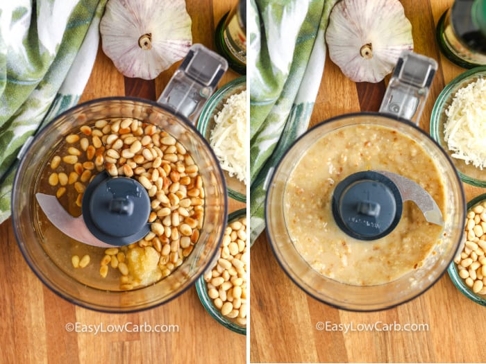 pine nuts for avocado pesto
