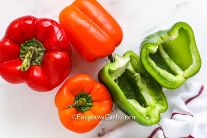 peppers to make Roasted Bell Peppers