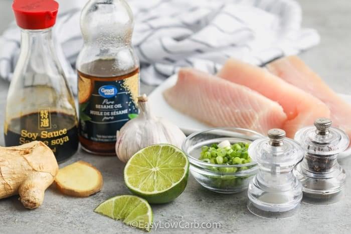 ingredients to make Baked Mahi Mahi
